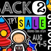 Back to School Sale!