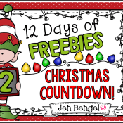 12 Days of Freebies: Day 12 AND Half Off!