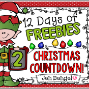 12 Days of Freebies: Day 2 AND Half Off!