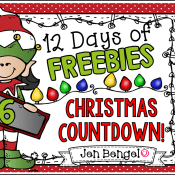 12 Days of Freebies: Day 6 AND Half Off!