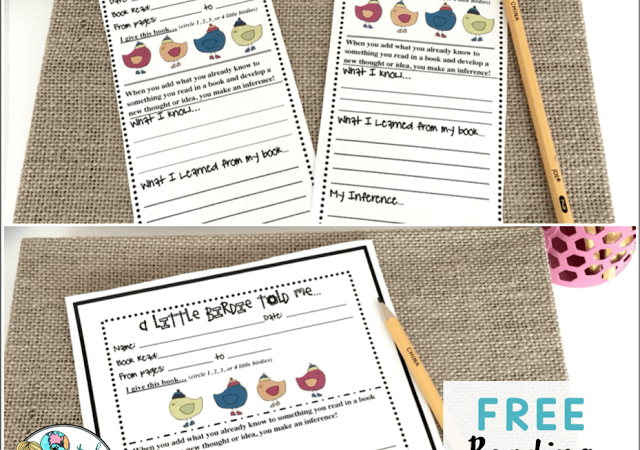 Teaching Inferencing with a FREE Resource!