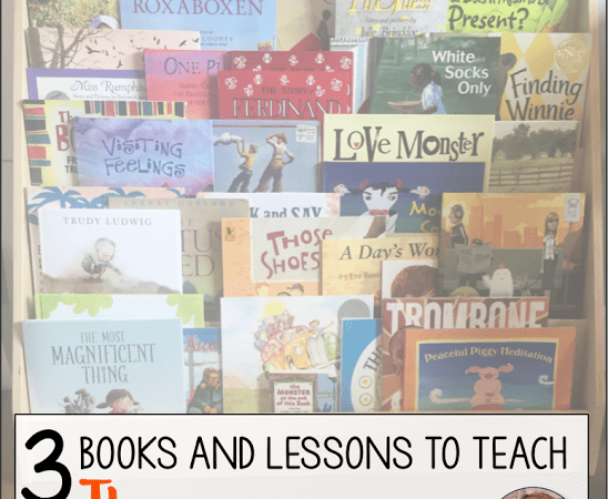 3 Books and Lessons for Teaching Theme