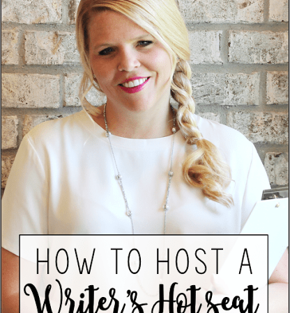 How to Host a Writer's Hot Seat