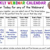 5 FREE Professional Development Webinars for You!