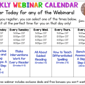 5 FREE Professional Development Webinars for You!