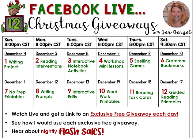 12 Days of Christmas Giveaways: Day Seven