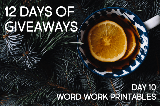 12 Days of Christmas Giveaways: Day Ten