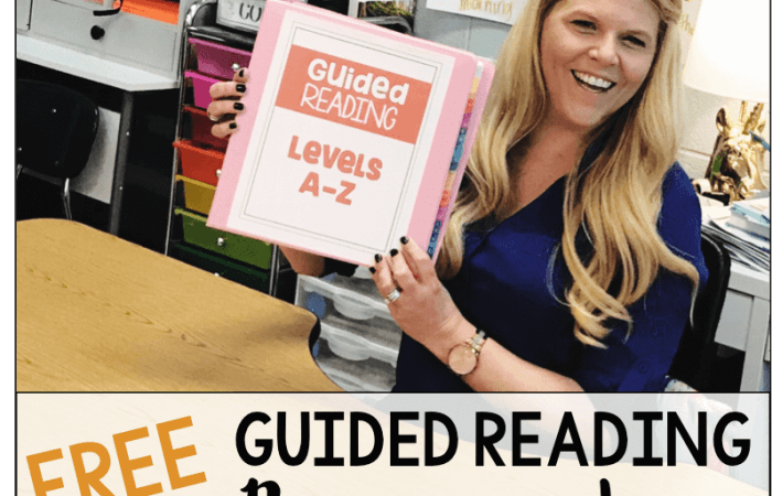 Free Guided Reading Resources