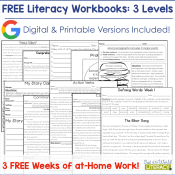 3 Free Weeks of Take-Home Literacy Work