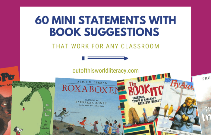 Mentor Texts for Comprehension That Work for ANY Classroom