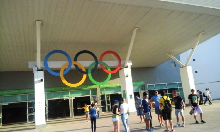 Aneis olimpicos Rio 2016