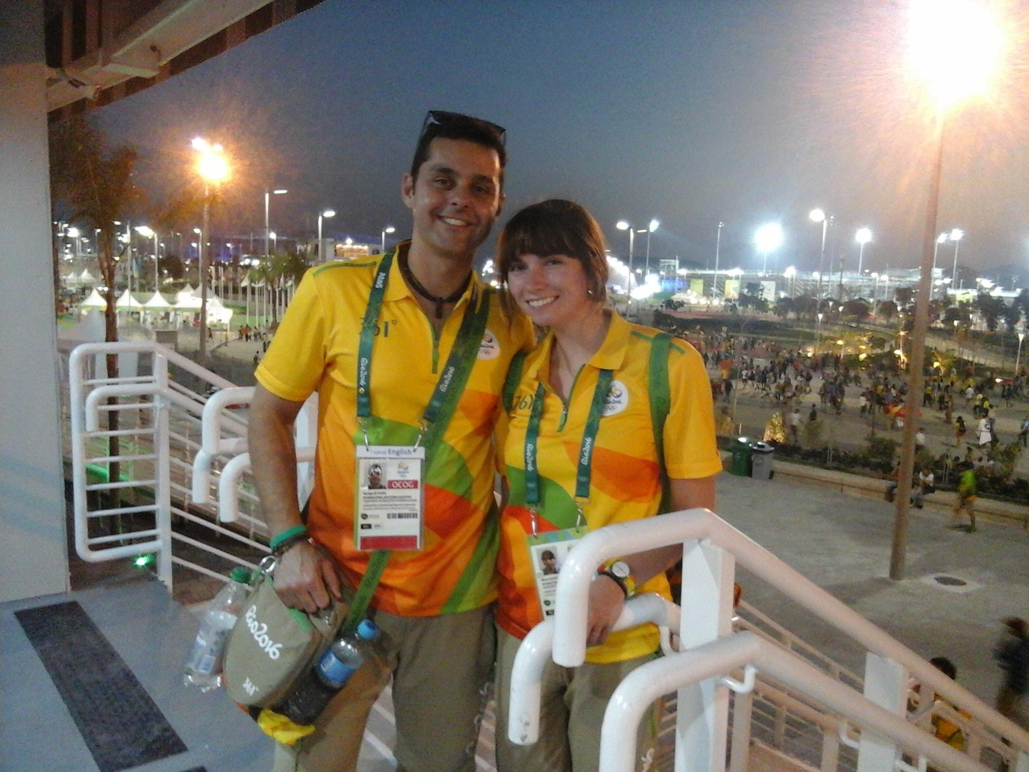 Rio 2016 Olympic Volunteer Uniform