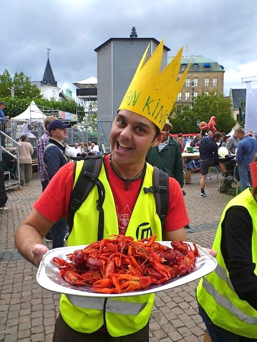 Festa do Lagostim na Suécia