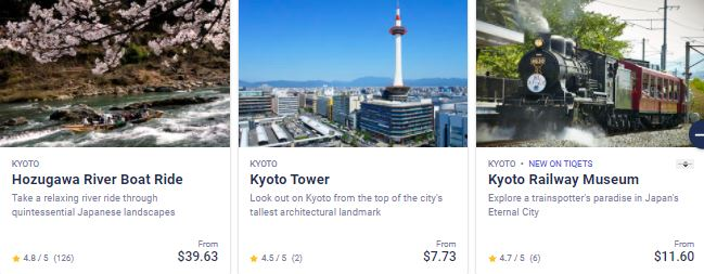 Best attractions in Japan