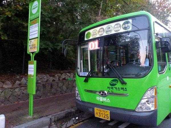 Ônibus para Bukhansan