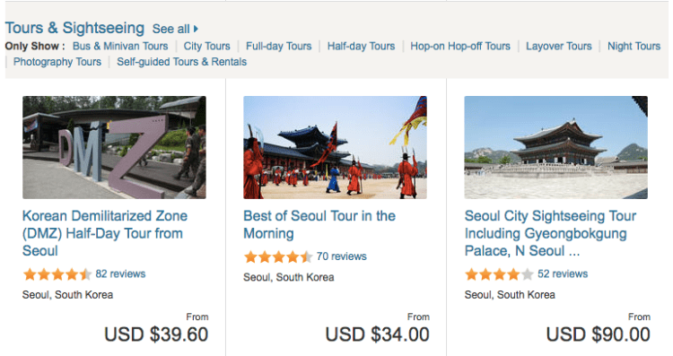 Best attractions in Seoul