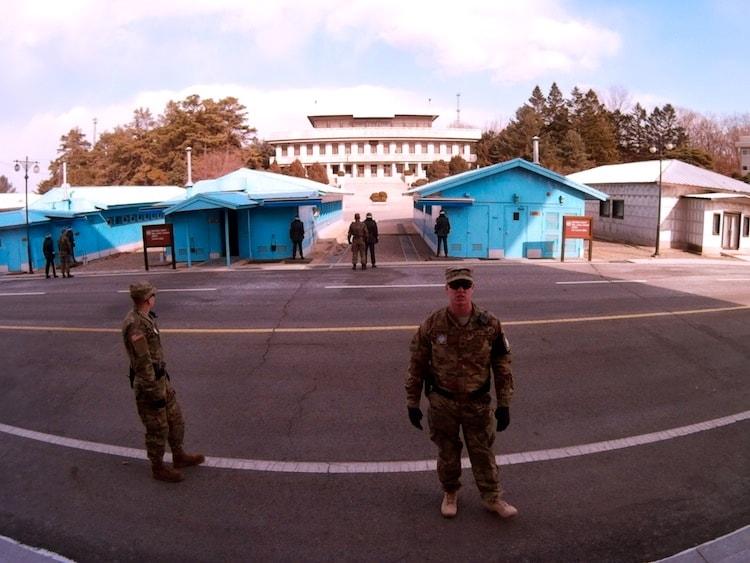 JSA South and North Korea