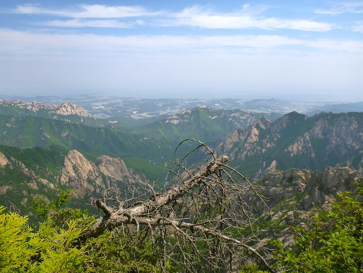 Parque Nacional de Seoraksan.