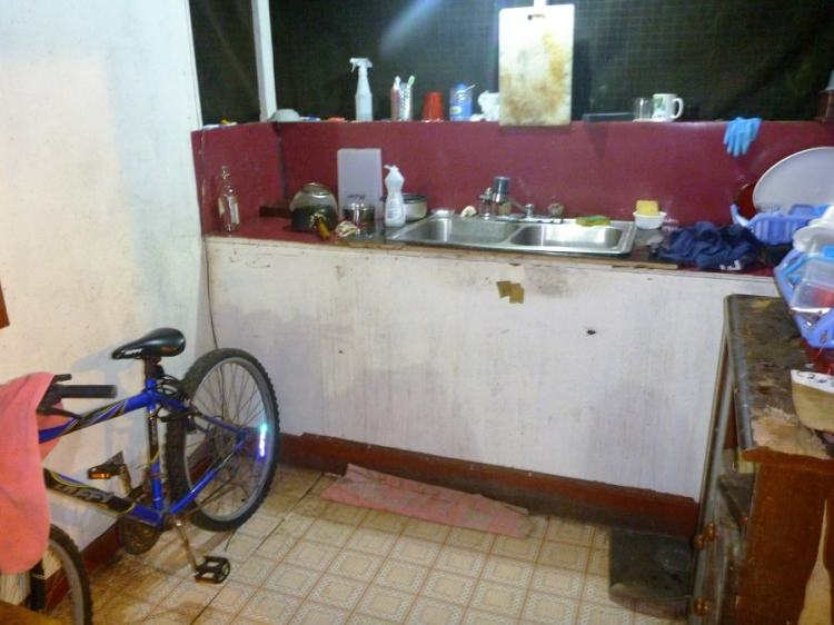 Airbnb kitchen Palau Koror