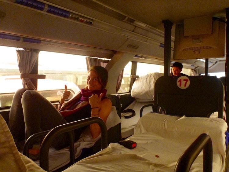 ônibus cama China