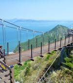 Hiking bridge in Saryangdo