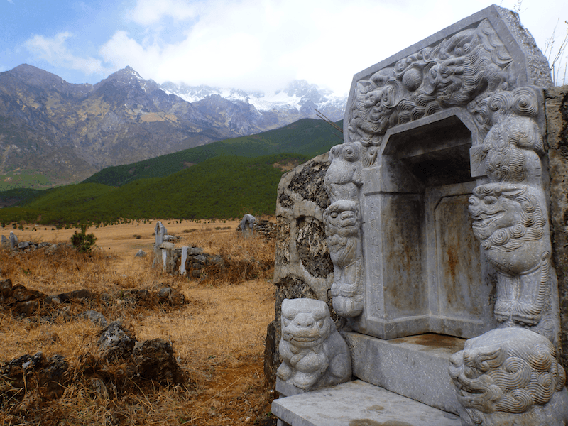 Jade Dragon Snow Mountain Lijiang/Yuhu Village