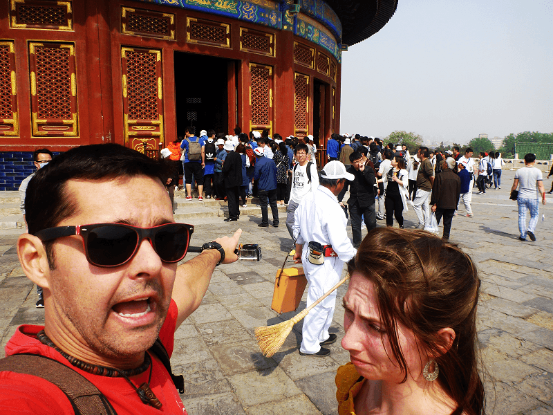 China crowd funny