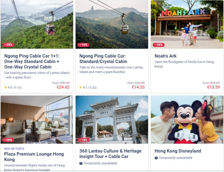 Best attractions in China