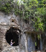 Destroyed Japanese Headquarters in Peleliu Palau