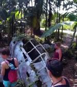 Japanese Fighter Plane in Peleliu Palau