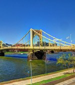 One of Pittsburgh's' 466 bridges