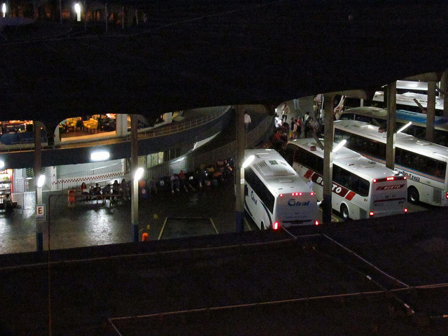 Bus terminals in Brazil