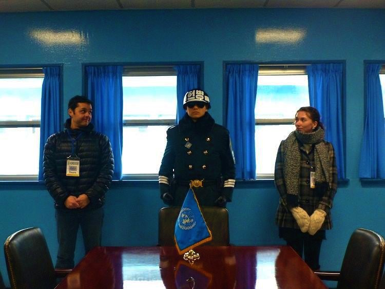 Joint Security Area North Korea DMZ