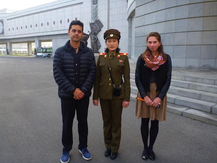 Soldado feminina Coreia do Norte