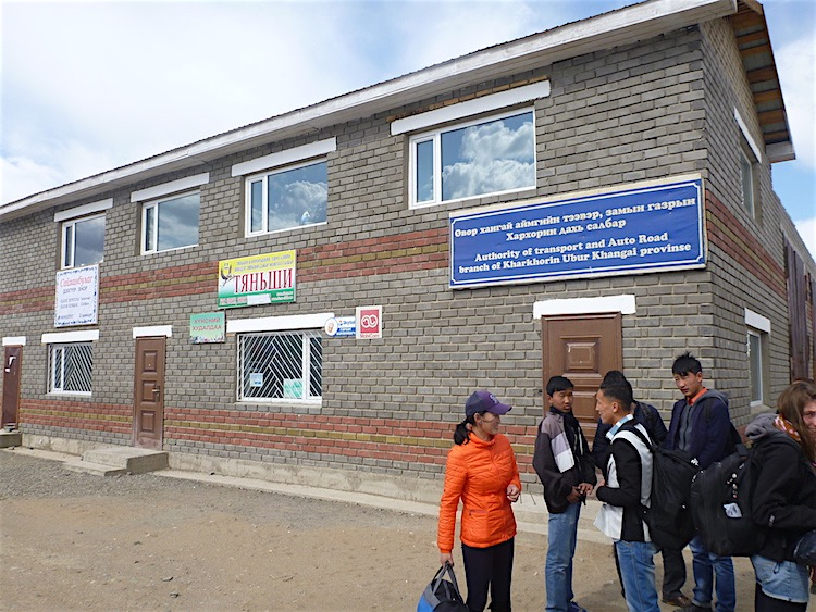 Estação de ônibus de Karakorum