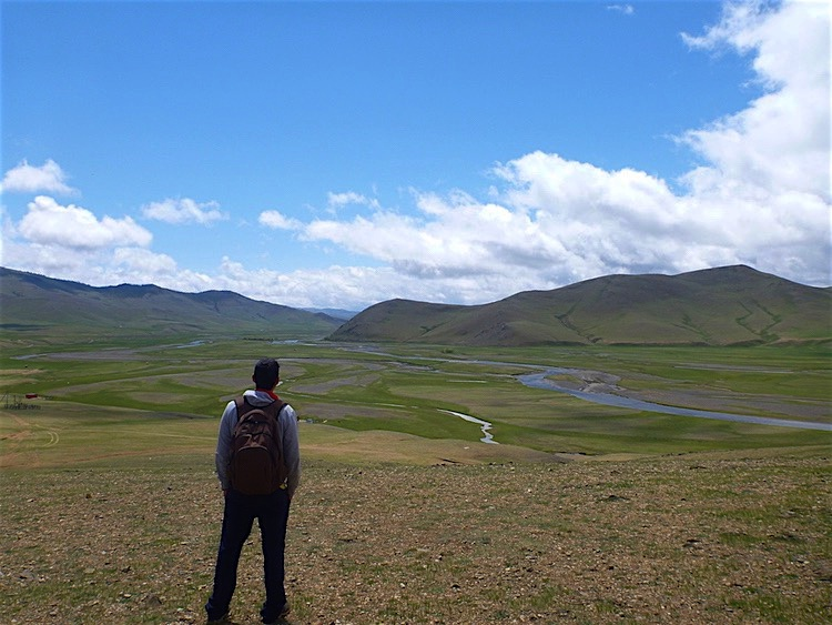 Rio Orkhon Mongolia