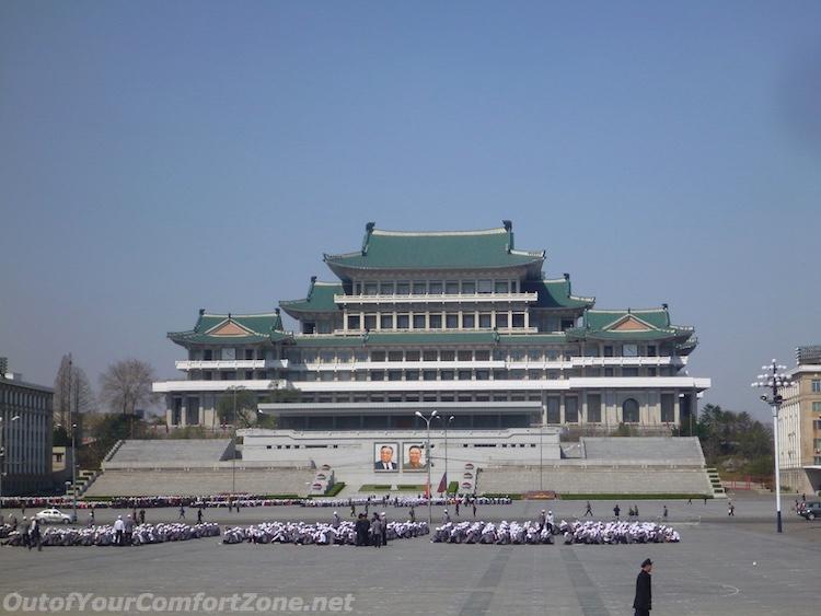 Kim il-Sung Square Pyongyang North Korea