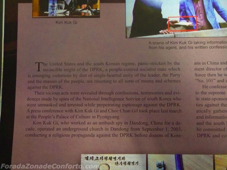 Revista propaganda Coreia do Norte