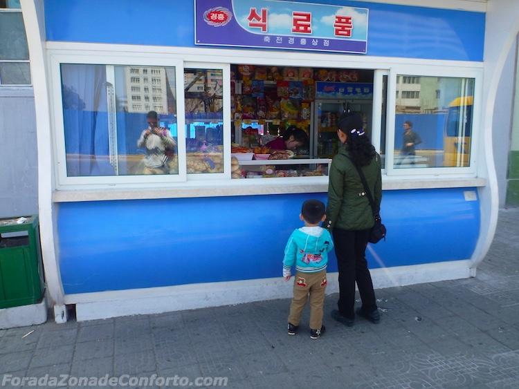 Capitalismo em Pyongyang Coreia do Norte