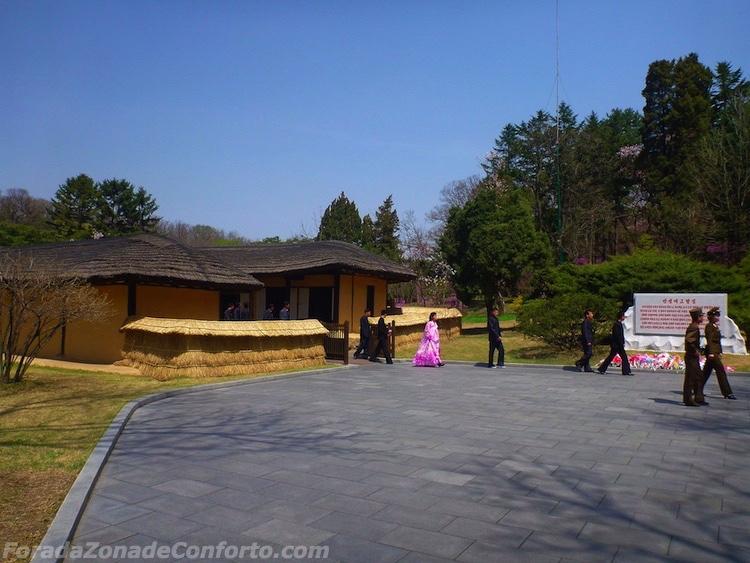 Casa onde nasceu Kim il-Sung Coreia do Norte