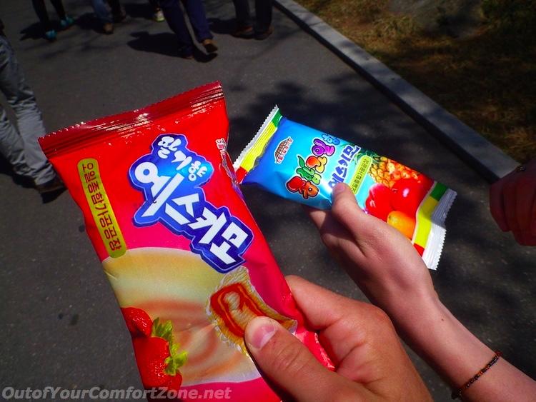 North Korea ice cream
