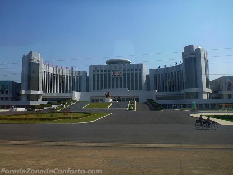 O palácio das crianças Pyongyang Coreia do Norte