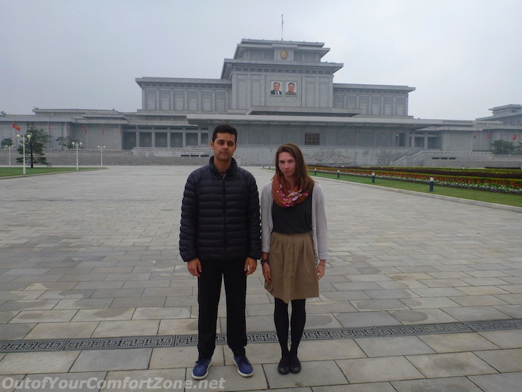 Kumsusan Palace of the Sun western tourists foreigners mausoleum Pyongyang North Korea