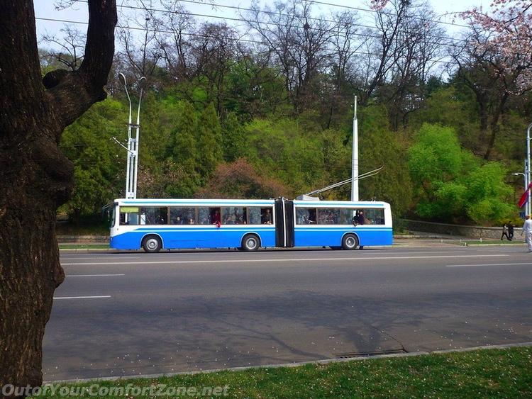 Public Transportation in North Korea
