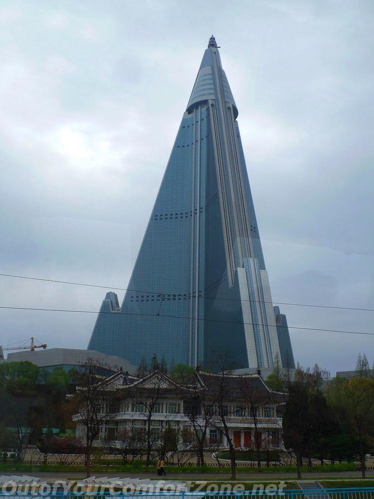Ryugyong Hotel Abandoned