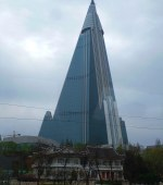 abandoned Ryugyong hotel Pyongyang North Korea