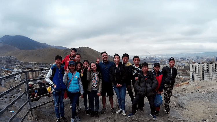 Mongols na capital