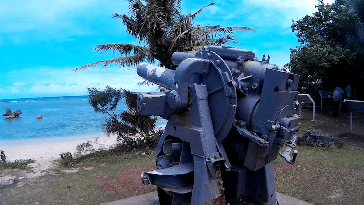 Old Cannon Guam