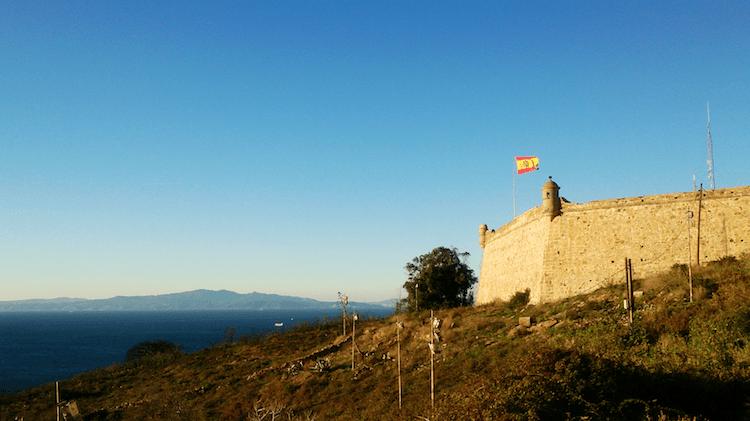 Spanish flag in Ceuta