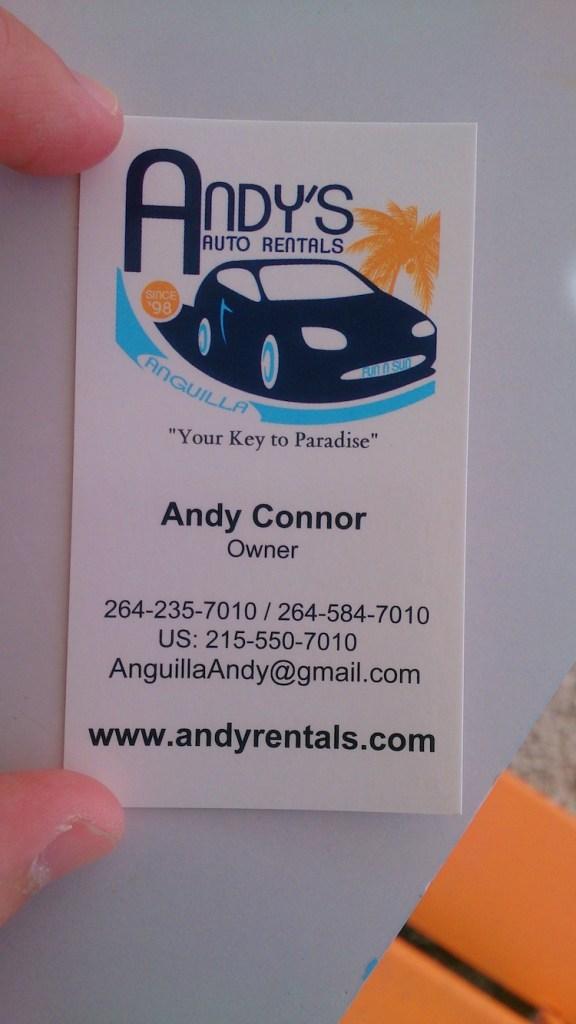 Aluguel de carro em Anguilla 1